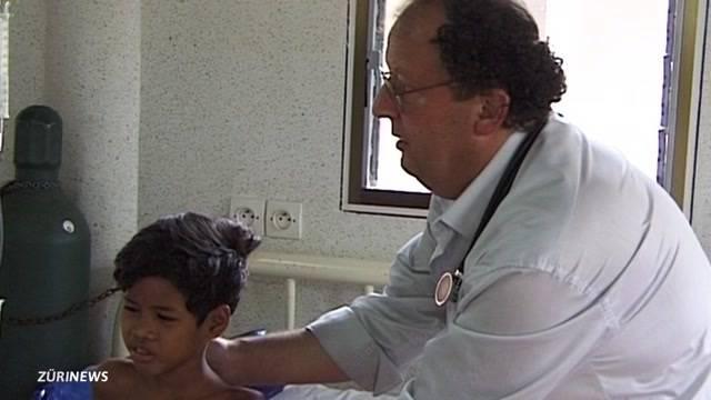 Kinderarzt Beat Richner schwer erkrankt