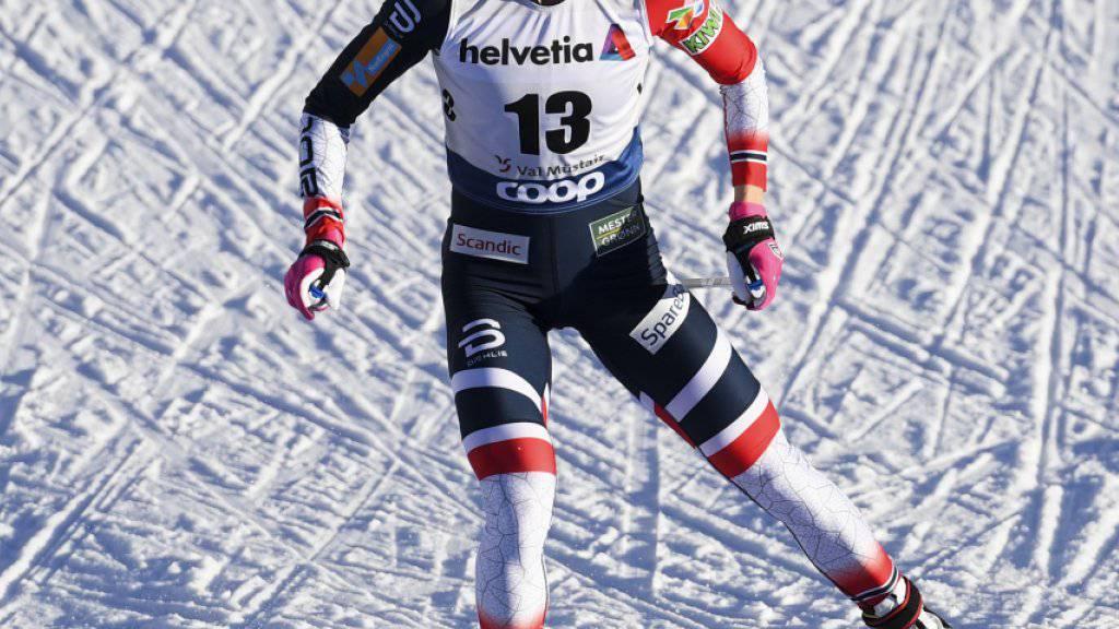 Ingvild Flugstad Östberg dominiert das Rennen über 10 km klassisch in Oberstdorf