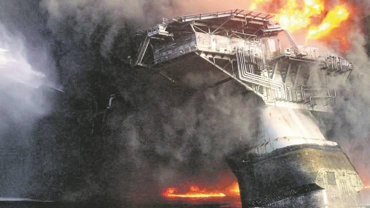 Die Bohrinsel «Deepwater Horizon» sank im Golf von Mexiko und löste eine gigantische Ölpest aus