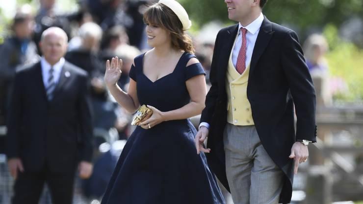 Heiraten am 22. Oktober: Prinzessin Eugenie und Partner Jack Brooksbank, hier bei der Hochzeit  von Pippa Middleton und James Matthews.