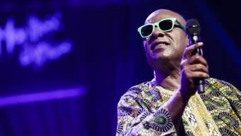 Bald 11-facher Vater: Stevie Wonder letzten Juli in Montreux