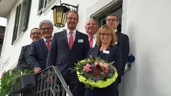Der Vorstand von GastroSolothurn (v.l.) Peter Bader, Peter Oesch, Daniel Furer, Urs Schindler, Bernadette Rickenbacher und Benvenuto Savoldelli. (Symbolbild)