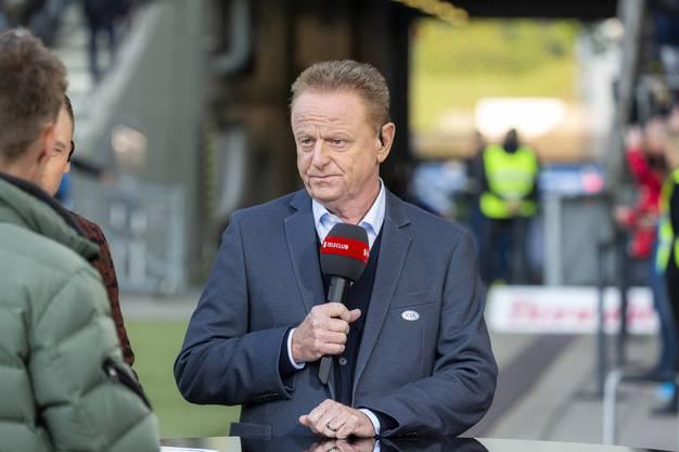 Rolf Fringer, ehemaliger Trainer FC St.Gallen und nun Teleclub-Experte