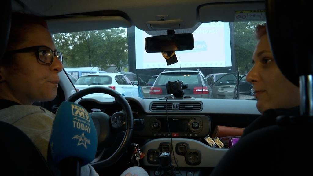 Film ab im Argovia Autokino