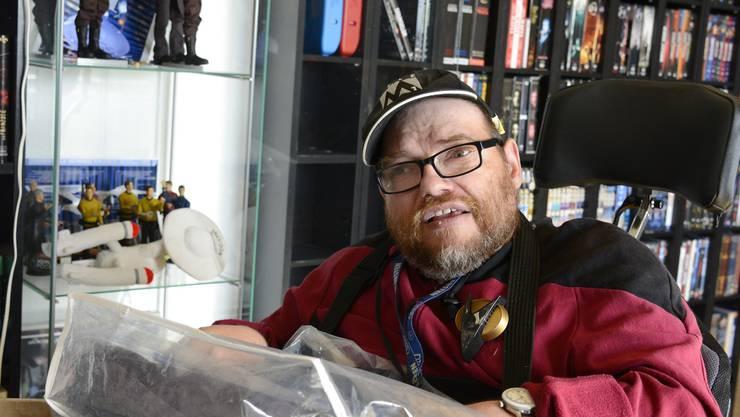 Daniel Herzig lebt mit einer cerebralen Bewegungsstörung.
