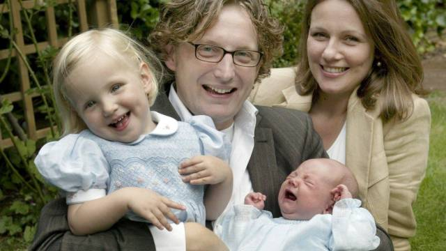 Prinz Bernhard und Frau Annette mit zwei ihrer drei Kinder (Archiv)