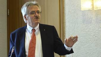 Oskar Kämpfer möchte «zu gegebener Zeit» den kantonalen Steuerfuss senken.