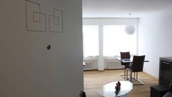 Blick in die neuen Luxus-Apartments im Grenchner EPA-Hochhaus