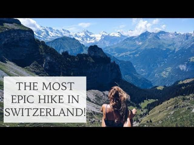 Schynige Platte – die beste Wanderung, die man in der Schweiz machen kann, findet Cat Meffan.