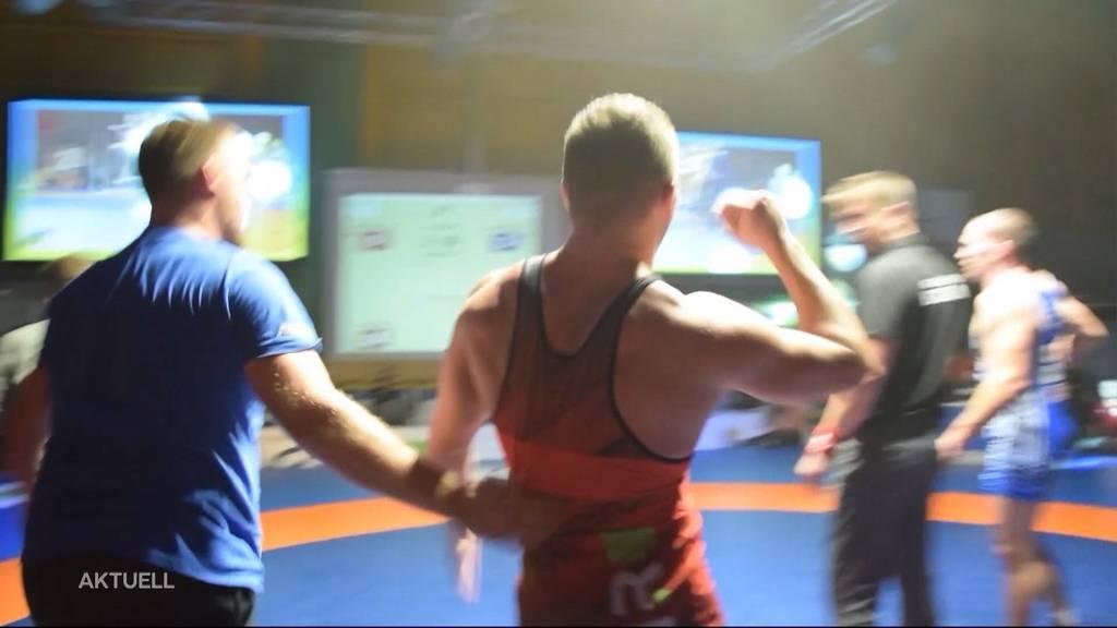 Triumph für Freiämter Ringer an Schweizermeisterschaft