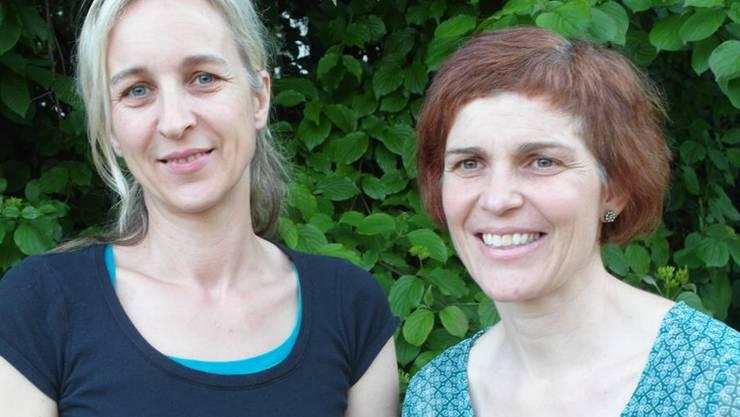 Nadine Walker (l.) folgt auf Christine Lüthi Rüegg. KA