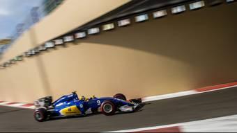 Die finanzielle Zukunft ist gesichert: Auch nächstes Jahr wird Marcus Ericsson für Sauber seine Runden drehen.