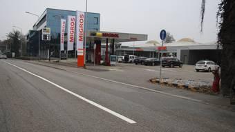 Diese Sicherheitslinie macht Migros an der Baselstrasse zu schaffen.
