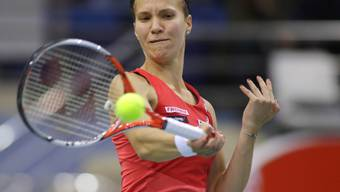 Viktorija Golubic schafft in Linz den Sprung in die zweite Runde