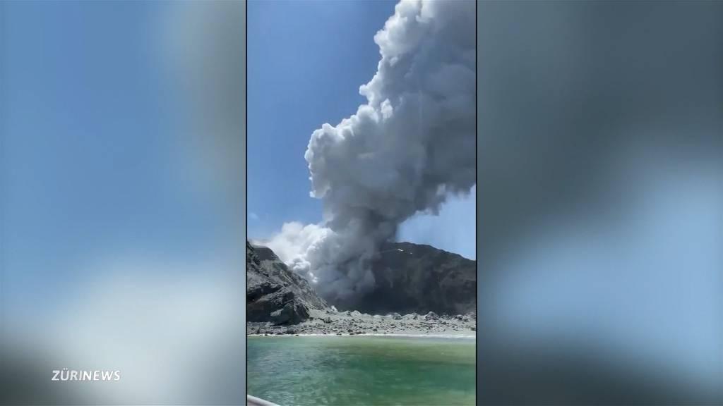 Vulkanausbruch in Neuseeland fordert mindestens fünf Tote