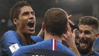 WM-Halbfinal Frankreich - Belgien