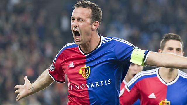 Gegen Liverpool schoss Marco Streller den FC Basel noch zum Sieg