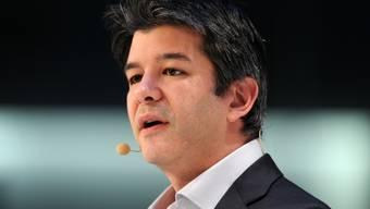 Travis Kalanick hat Uber gegründet, musste auf Druck von Investoren aber den Chefposten abgeben. (Archiv)