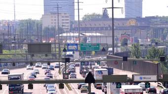 Autobahn A2 vor Basel: Und das ist nicht einmal das grösste Problem.