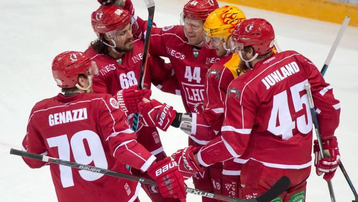 Lausanne jubelt über Klubrekord: Achter NLA-Sieg in Folge