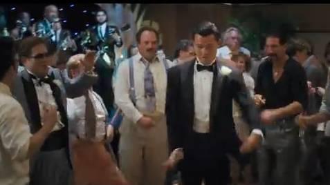 Leonardo DiCaprio gibt den Tänzer