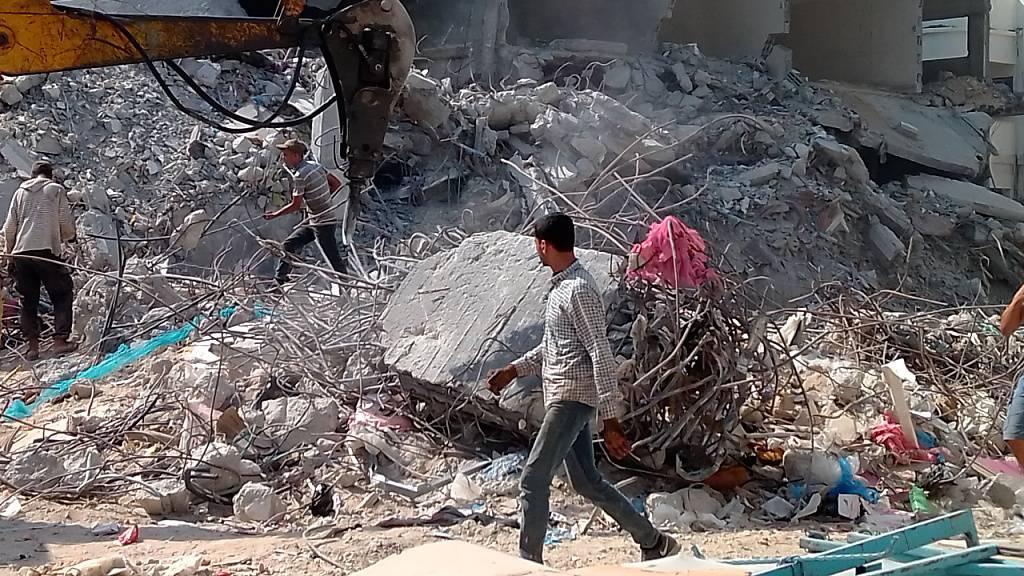 Behörde: Finanzierungsprobleme erschweren Wiederaufbau in Gaza