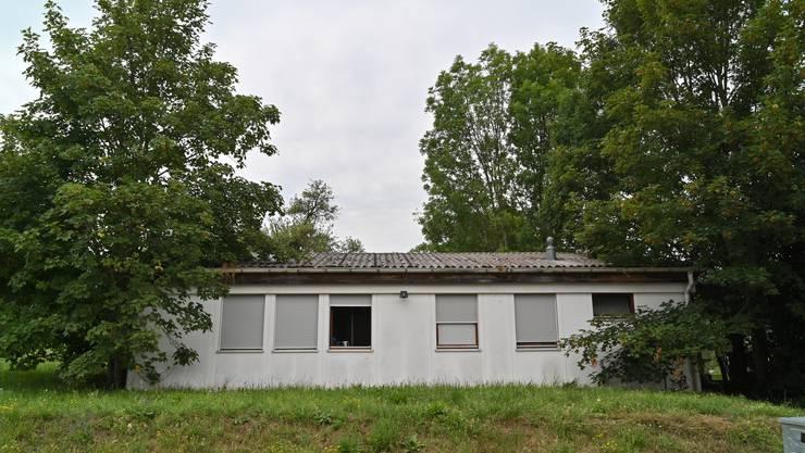 Lostorf sprach 500'000 Franken für eine neue Asylunterkunft. Der marode Pavillon muss einem Holzhaus weichen, wo in Zukunft Familien und Frauen wohnen werden.