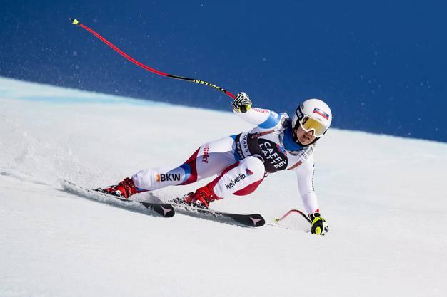 Joana Hählen (27) zeigte eine mutige Fahrt am Limit.