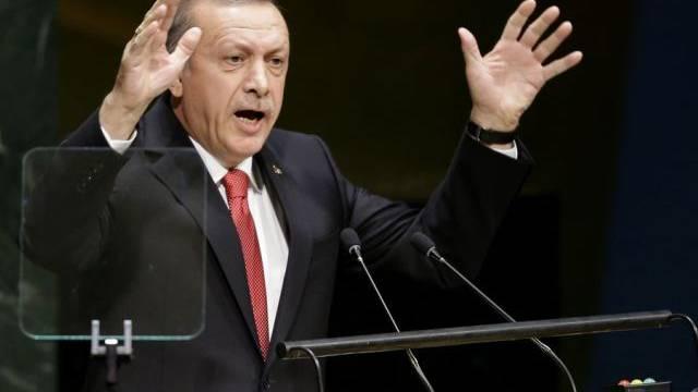 Erwägt Einsatz gegen den IS: Türkischer Präsident Erdogan (Archiv)