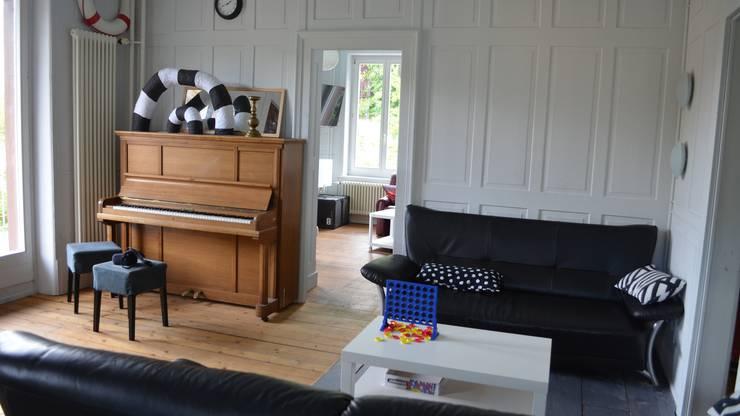 Das Spiel- und Relaxzimmer, dahinter befindet sich das Game-Zimmer.