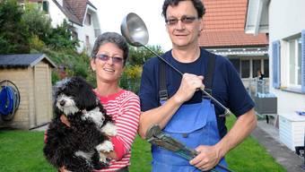 Zwei für alle Fälle: Monika und Stefan Fink packen gerne mit an.