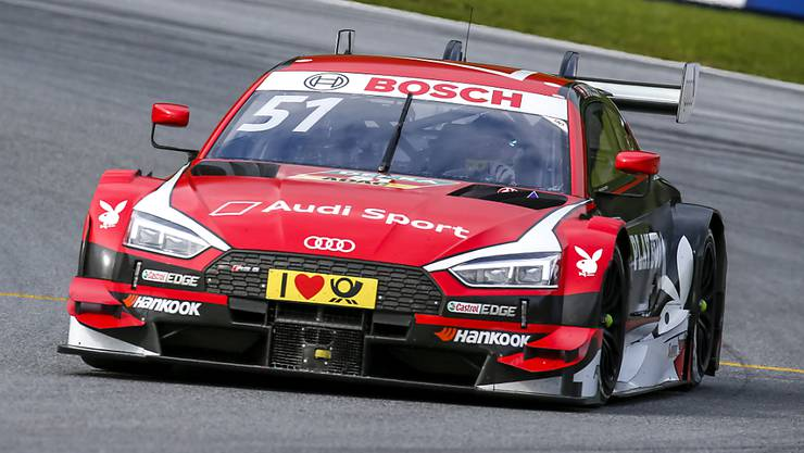Nico Müller gewann am Samstag auf dem Lausitzring