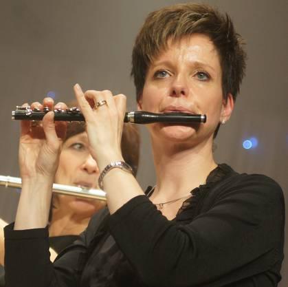 Sandra Thoma spielte ein Piccoloflöten-Solo.