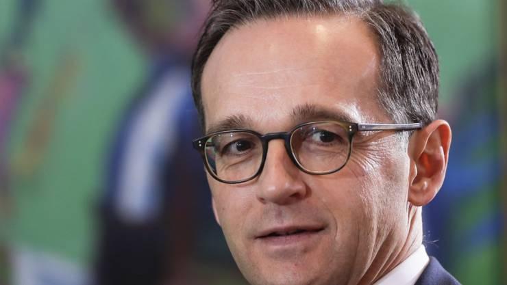 """""""Wer hat was wann gemacht"""": Der deutsche Justizminister Heiko Maas kündigt einen Bericht zum Attentat in Berlin an."""