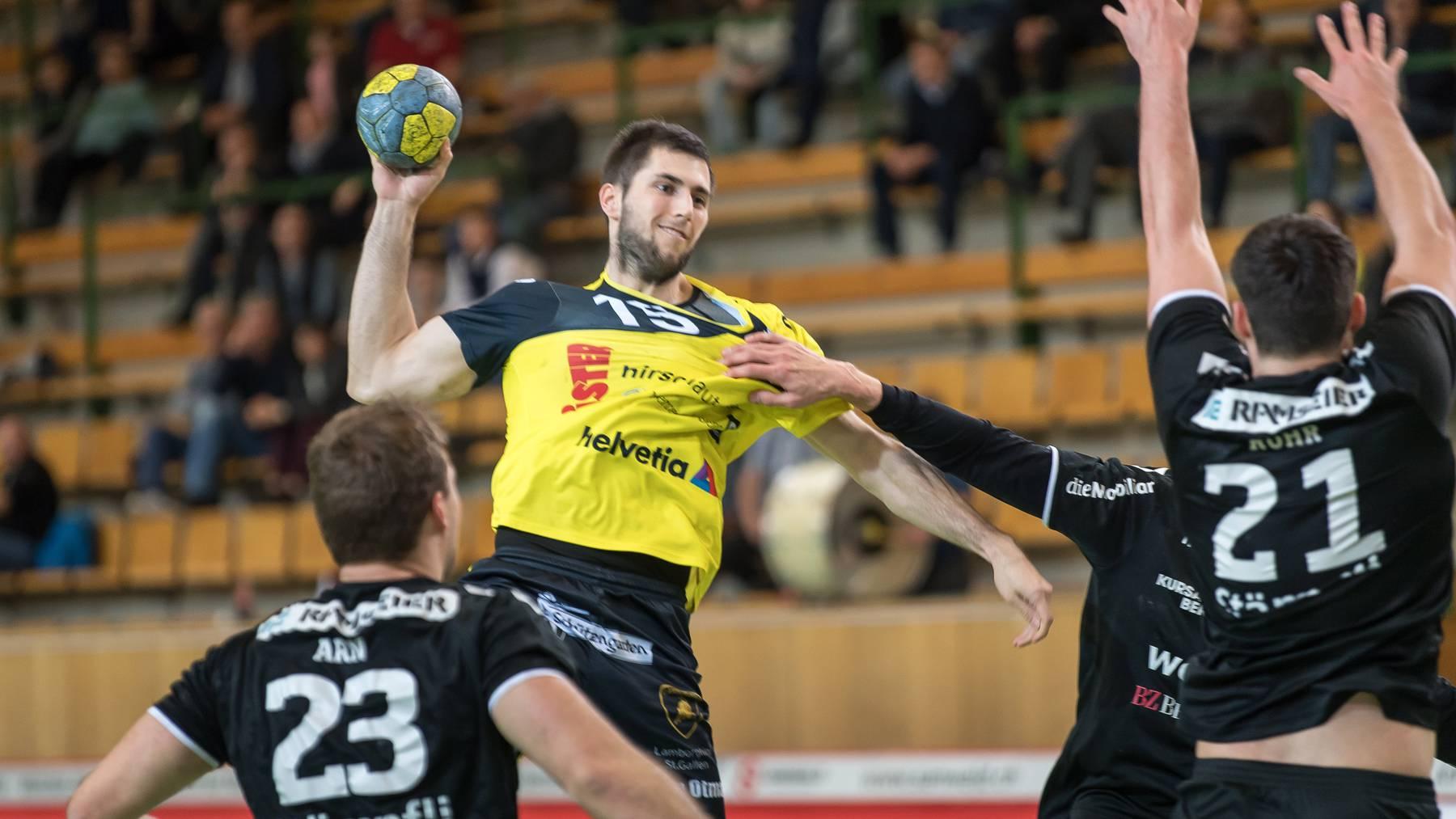 Die IG Handball St.Gallen hat sich wegen der Hallensituation in der Stadt mit einem offenen Brief an den Stadtrat gewandt. Spitzenmannschaften wie der St.Otmar bräuchten modernere Hallen.