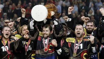 Der SC Bern ist zum 13. Mal Schweizer Meister