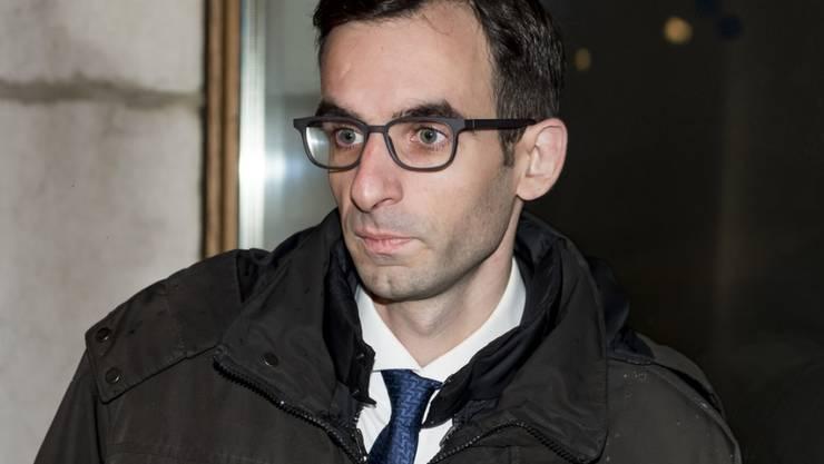"""Der Genfer FDP-Politiker Simon Brandt tritt als Grossrat zurück. """"Dieser seit langem geplante Entscheid steht in keinem Zusammenhang mit meiner Verhaftung wegen Amtsgeheimnisverletzung"""", sagt er. (Archivbild)"""