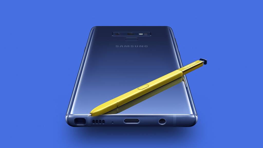 Vernetzt: Das neue Samsung Galaxy Note 9