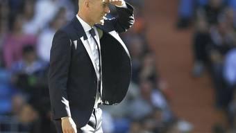 Zinédine Zidane sah fleissige Real-Spieler bei seiner Rückkehr auf die Trainerbank