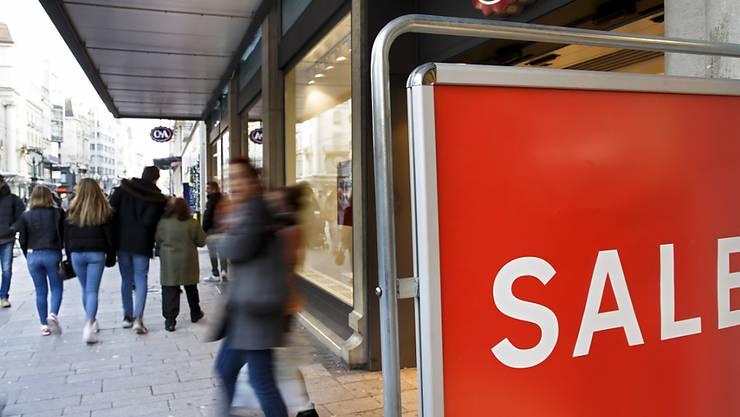 Der Schweizer Detailhandel ist im vergangenen Jahr deutlich langsamer gewachsen als die Gesamtwirtschaft. (Archivbild)