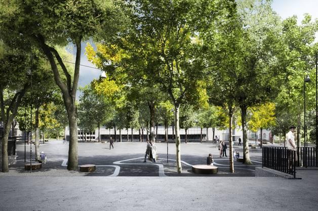 Kelim, das Siegerprojekt von Schmid Landschaftsarchitekten, Zürich