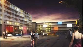 Der Brown-Boveri-Platz: Das Entree ins neue Stadtquartier