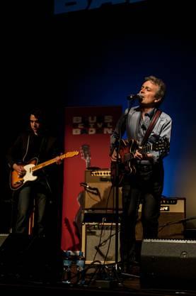 Richard Koechli an der Gitarre