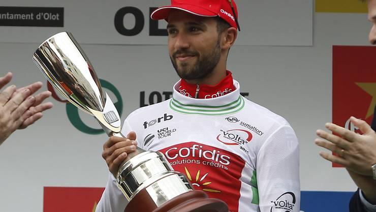 Nacer Bouhanni - hier nach seinem Sieg in der Katalonien-Rundfahrt - der Spurtsieger in San Javier