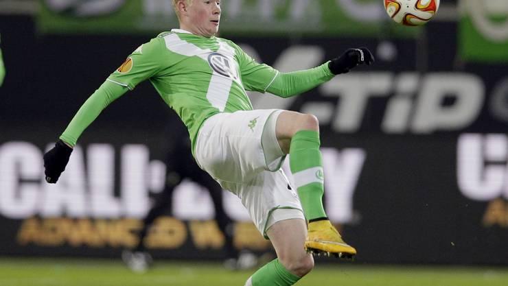 Kevin De Bruyne wechselt zum Manchester City auf die Insel