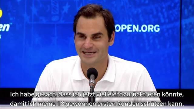 Roger Federer denkt nicht an einen Rücktritt im nächsten Jahr