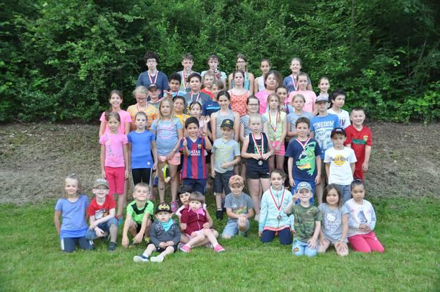 Insgesamt 49 Kinder nahmen am diesjährigen Schnellsten Walterswiler teil