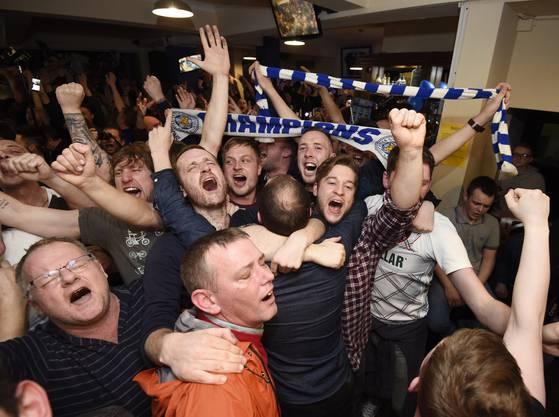 Leicester City's Märchen ist wahr geworden: Sie sind Meister in der Premier League
