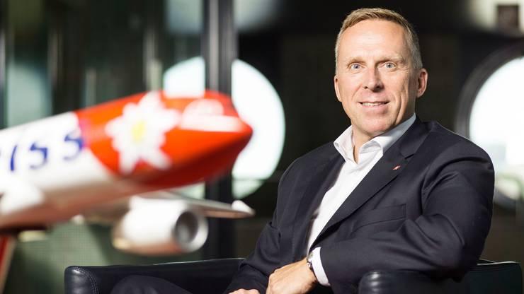 Edelweiss-Chef Bernd Bauer.