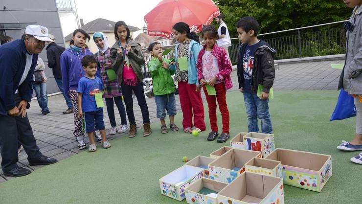 Am 31. Sonbre Fest der Sonderschule Grenchen standen die Kinder im Mittelpunkt